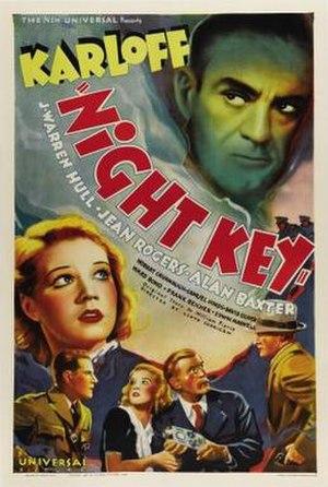 Night Key - Image: Nightkeyposter