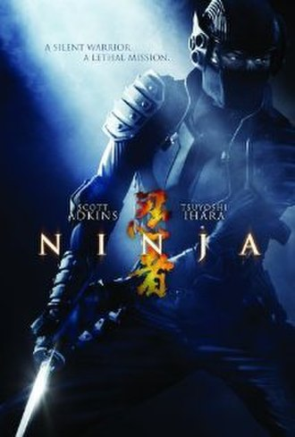 Ninja (film) - Official theatrical poster.
