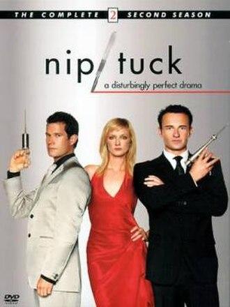 Nip/Tuck (season 2) - DVD cover