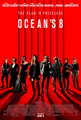 Ocean's 8 - Theatrical release poster