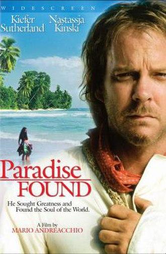 Paradise Found (film) - Image: Paradise Found Film Poster