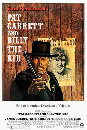 Pat Garrett and Billy the Kid - Theatrical release poster