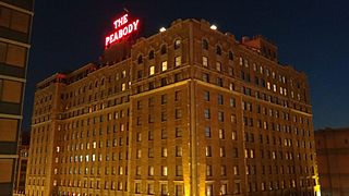 Peabody Hotel United States historic place