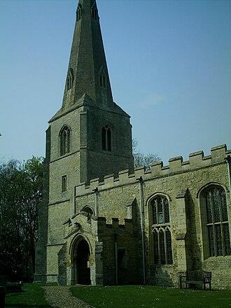 Pertenhall - St Peters Church, Pertenhall