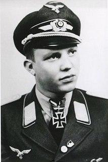 Peter Düttmann German World War II fighter pilot