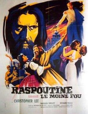 Rasputin the Mad Monk - Original French film poster