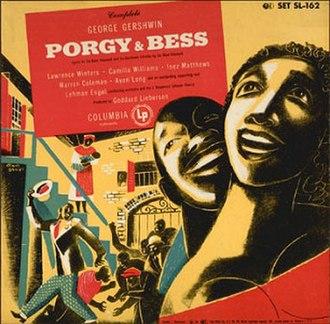 Porgy and Bess (1951 album) - Image: Porgy and Bess (1951 album)