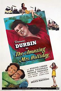 <i>The Amazing Mrs. Holliday</i> 1943 film by Jean Renoir, Bruce Manning