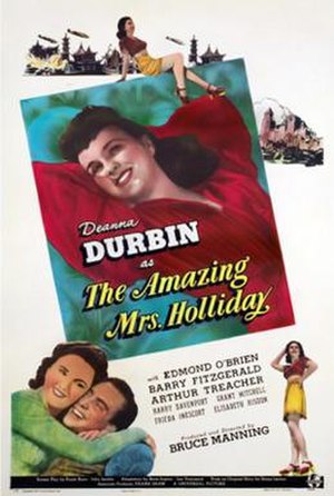 The Amazing Mrs. Holliday - Image: Poster of The Amazing Mrs. Holliday