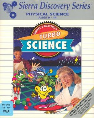 Quarky & Quaysoo's Turbo Science - Image: Quarky & Quaysoo's Turbo Science Cover Art