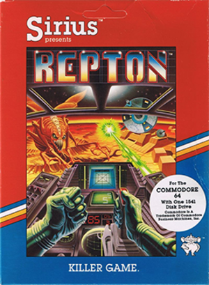 Repton (1983 video game) - Image: Repton coverart