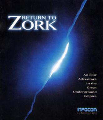 Return to Zork - Cover art
