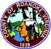 Official seal of Roanoke County