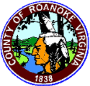 Roanoke County, Virginia - Image: Roanoke seal