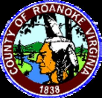 Roanoke County, Virginia - Image: Roanoke seal