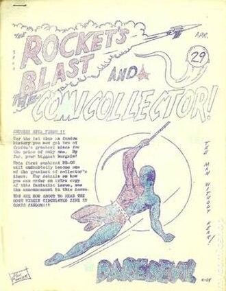 Rocket's Blast Comicollector - Image: Rockets Blast Comic Collector 29
