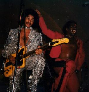 Zapp (band) - Roger and Zapp performing, ca.1980