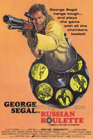 Russian Roulette (film) - Image: Russian roulette george segal