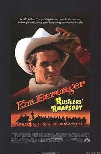 Rustlers' Rhapsody - Theatrical release poster