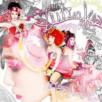 Twinkle (EP) - Image: SNSD COVER TWINKLE