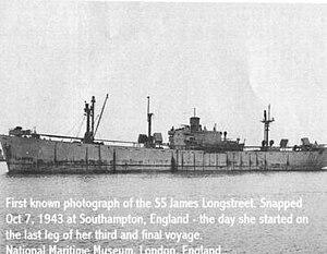 SS James Longstreet - Image: SS James Longstreet on October 7, 1943