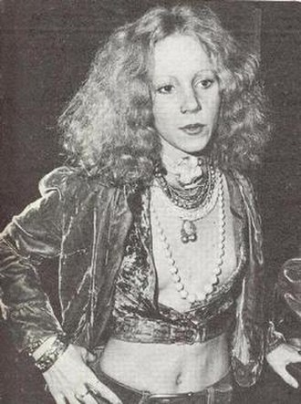 Sable Starr - Sable Starr, taken in 1973 at Rodney Bingenheimer's English Disco