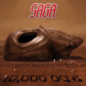 10,000 Days (Saga album) - Image: Saga 10000 Days