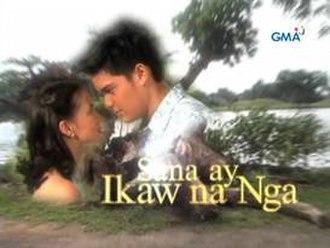 Sana ay Ikaw na Nga (2001 TV series) - Title card