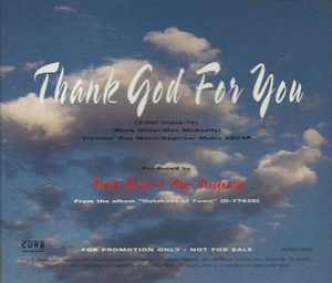 Thank God for You - Image: Sawyer Brown Thank God single