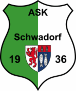 SK Schwadorf - The club's logo during its life as ASK Schwadorf.