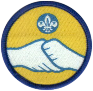 Scoutlink (The Scout Association) - Badge for members of Scoutlink in the United Kingdom