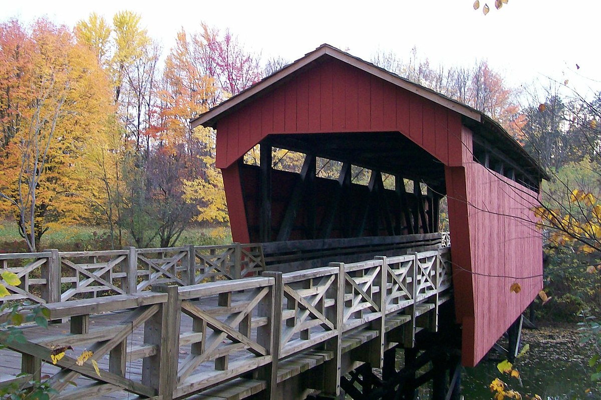 Shaeffer Campbell Covered Bridge Wikipedia