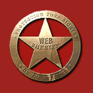 Web Sheriff - Image: Sheriffbadge