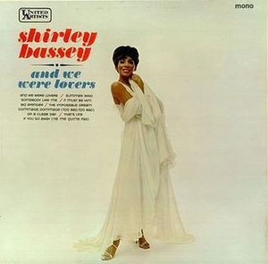 And We Were Lovers - Image: Shirley Bassey And We Were Lovers
