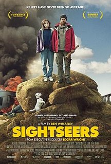 <i>Sightseers</i> 2013 British black comedy thriller film directed by Ben Wheatley