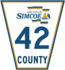 Simcoe Road 42 sign.png