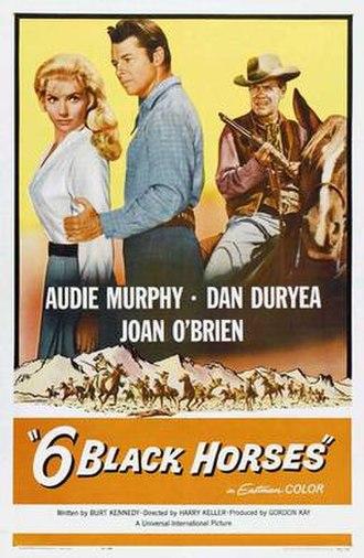 Six Black Horses - Film poster