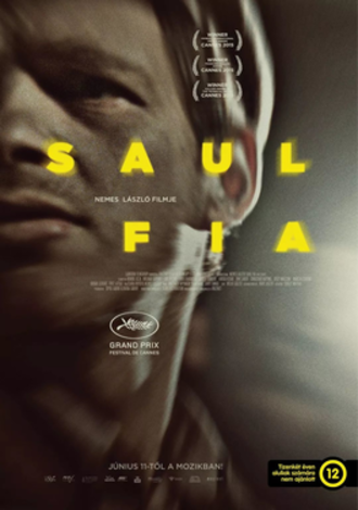 Son of Saul - Hungarian theatrical release poster