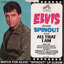 Image result for Elvis spinout soundtrack