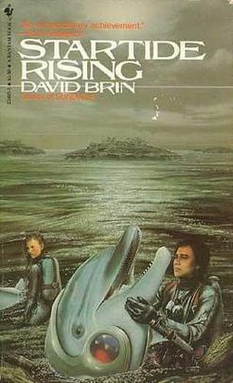 Startide Rising - Cover of first edition (paperback)