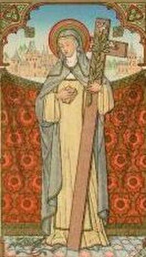 Stephana de Quinzanis - Blessed Stephana depicted on a holy card
