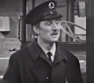 Stephen Lewis (actor) - As Inspector Blake in On the Buses, 1969