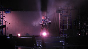 Lindsey Stirling - Stirling in Buenos Aires in April 2015 as part of her Shatter Me World Tour