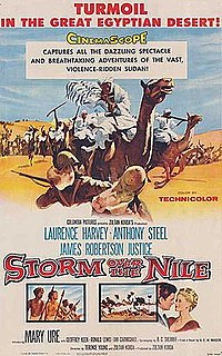 <i>Storm Over the Nile</i> 1955 film by Zoltan Korda, Terence Young