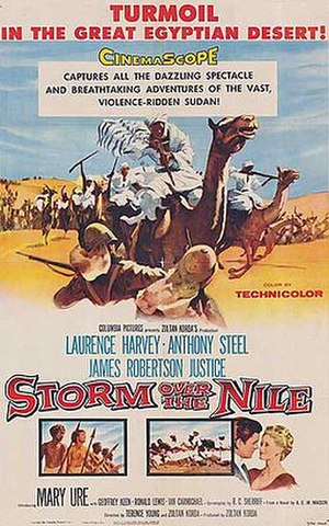 Storm Over the Nile - Original cinema poster