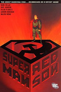 <i>Superman: Red Son</i> 2003 three-issue comic book mini-series