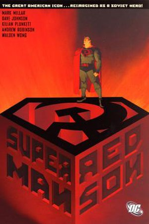 Superman: Red Son - Cover art from the Superman: Red Son TPB.