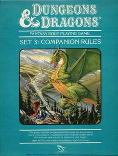 <i>Dungeons & Dragons Companion Set</i> book by Frank Mentzer