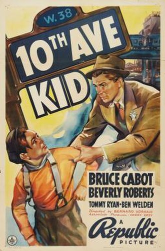 Tenth Avenue Kid - Theatrical release poster