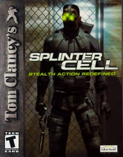 <i>Tom Clancys Splinter Cell</i> (video game) 2002 video game